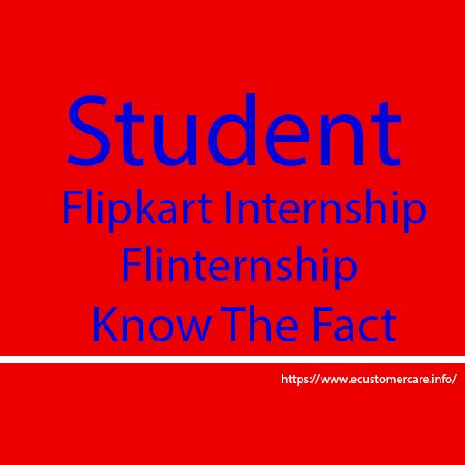 Student Flipkart Internship