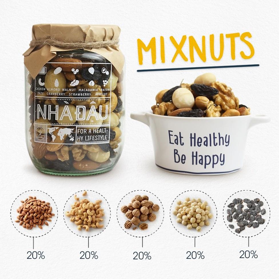 Các loại hạt dinh dưỡng Mẹ Bầu nên ăn hàng ngày