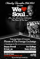 Mon 12/29: WLS Pre-NYE Celebration w/Phonte of The Foreign Exchange