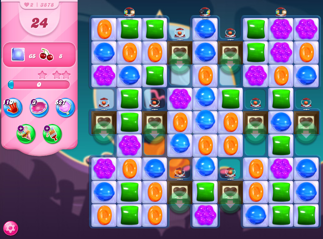 Candy Crush Saga level 3878