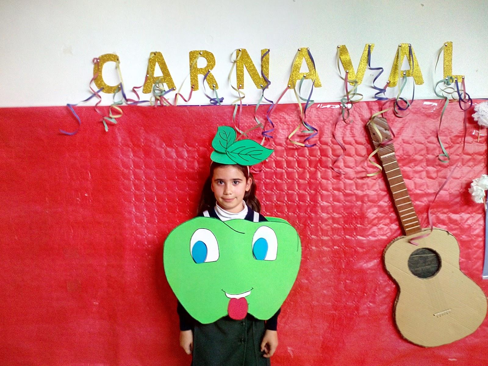 *Mi maestra Rocío*: Disfraz de manzana