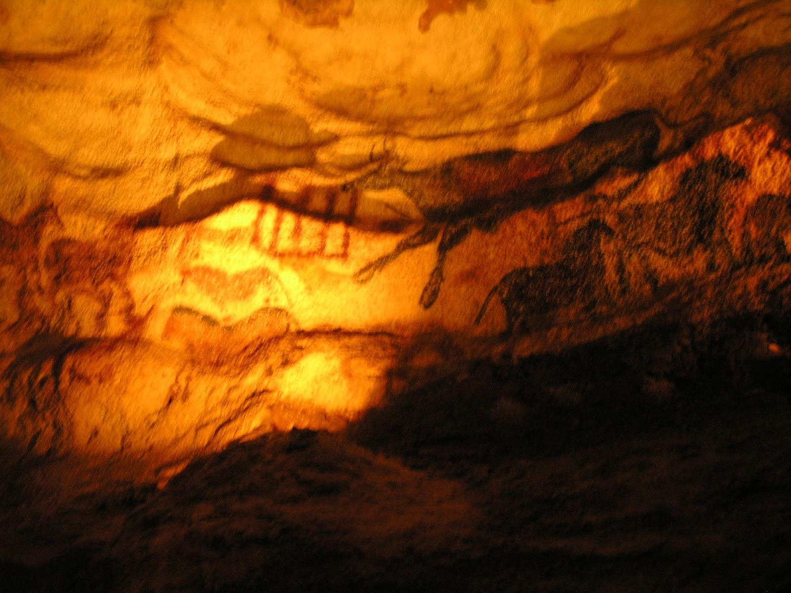 ラスコー洞窟の馬の壁画