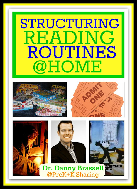 photo of: Dr. Danny Brassell Structuring Reading Routines at Home