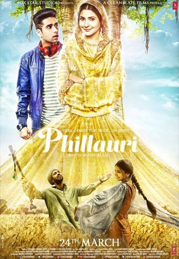 Free Download Phillauri 2017 Hindi 720p  950mb