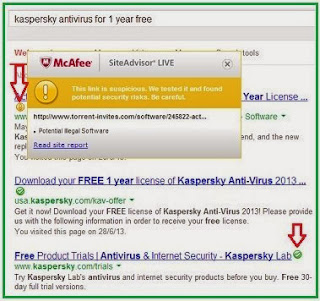 McAfee SiteAdvisor Live Key Free For 6Months