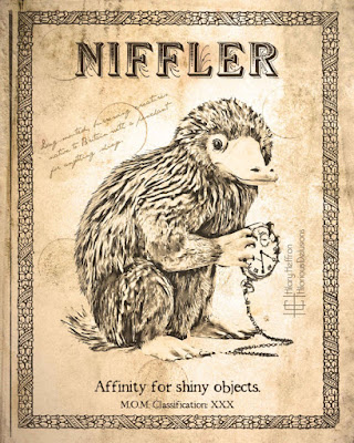 Niffler Scientific Page Art Print