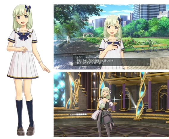 Screenshot of Idolmasters: Stella Stage released by Bandai Namco