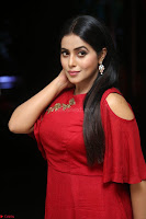 Poorna in Maroon Dress at Rakshasi movie Press meet Cute Pics ~  Exclusive 75.JPG