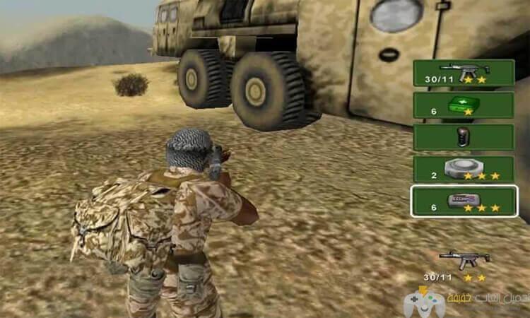 تحميل لعبة 1 Conflict Desert Storm من ميديا فاير