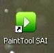 Cài đặt thành công phần mềm Pain tool SAI