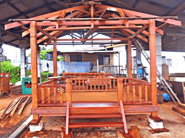 Harga pergola kayu Malaysia