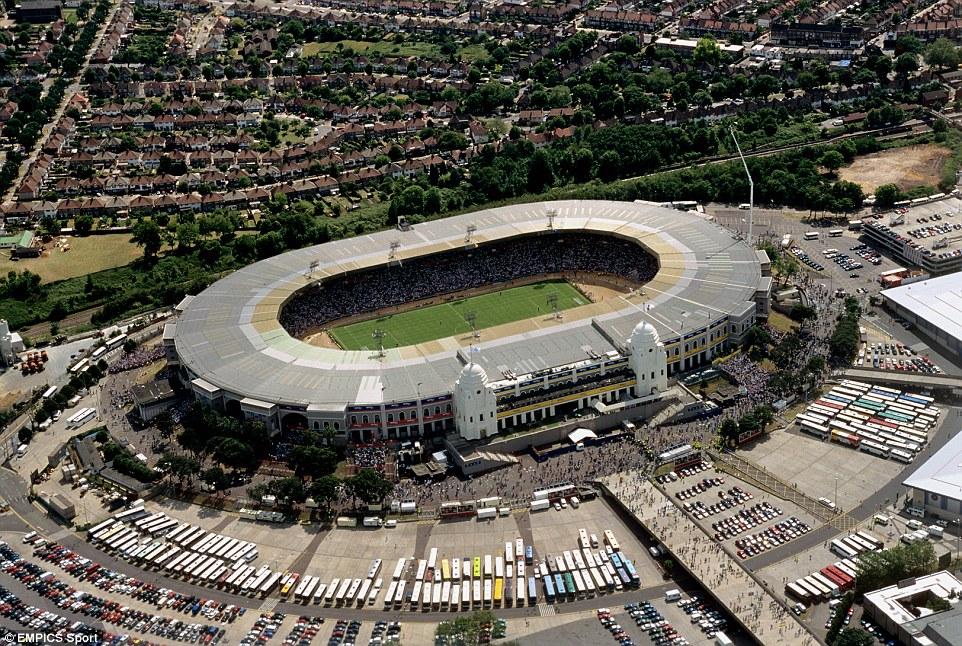 Pie and Mushy Peas: Wembley Stadium (Old)