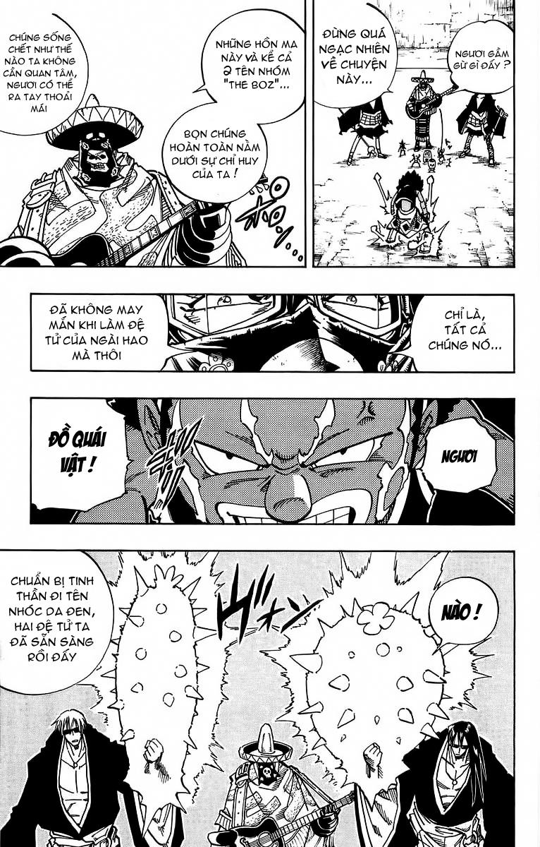 Shaman King [Vua pháp thuật] chap 115 trang 13