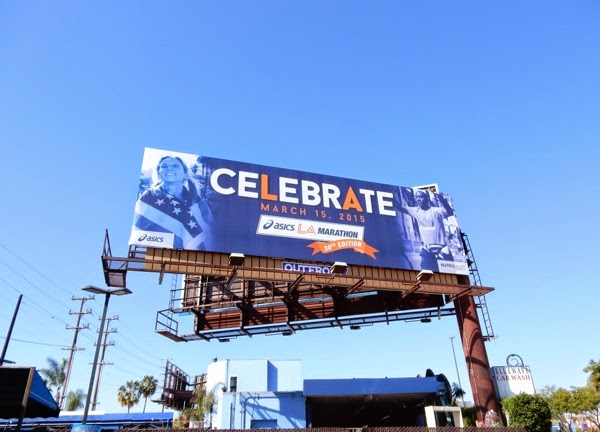 30th LA Marathon billboard