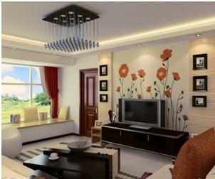 Contoh ruang keluarga