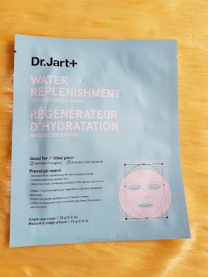 Dr. Jart+ Water Replenishment Cotton Sheet Mask - www.modenmakeup.com