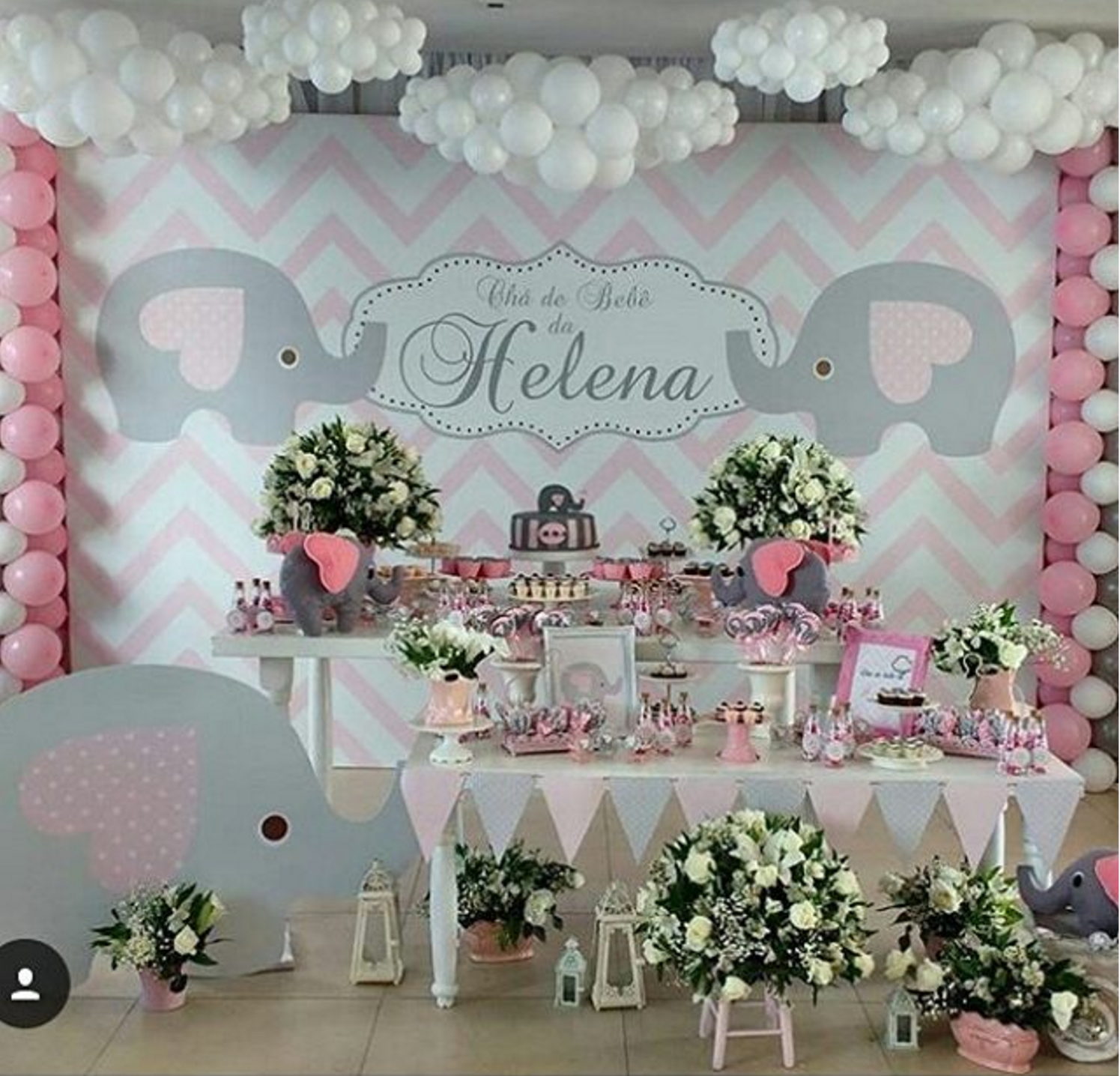 Ideas de decoraci n para tu fiesta de baby shower con for Decoracion de i