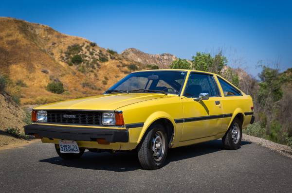 1981 Toyota Corolla SR5 Liftback