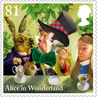 Reino Unido - Filatelia - 2015 - Alice in Wonderland 06