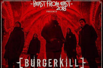"Burgerkill ""Adamantine European Tour 2018'."