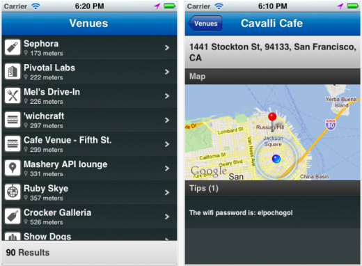 With 4sqwifi, Find The Passwords For Nearby WiFi hotspots