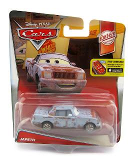 pixar cars japeth