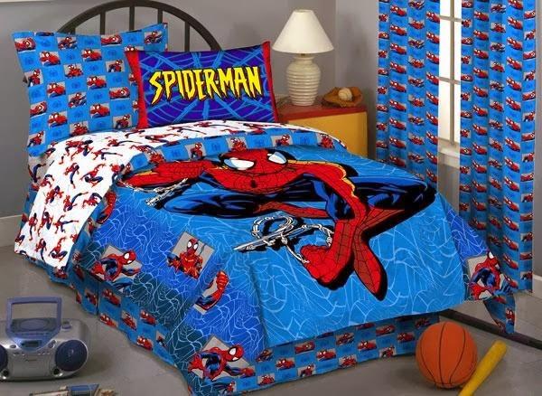 Cuartos para ninos de superheroes inspiraci n para el for Dormitorio super heroes