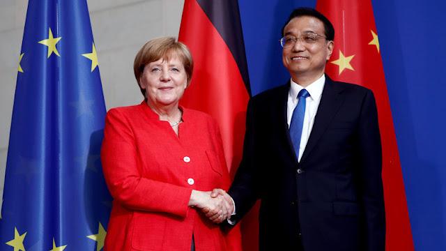 Juntos contra EE.UU.: Alemania y China firman acuerdos comerciales por 20.000 millones de euros