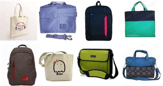 Pusat konveksi pembuatan tas laptop, ransel, goodie bag murah di Cipadu Tangerang