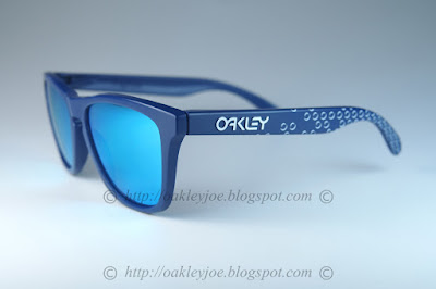 8c393aa7d0 oo9013-47 frogskins b1b blue + sapphire iridium lens  220 xmas sale now   180! lens pre coated with Oakley hydrophobic nano solution