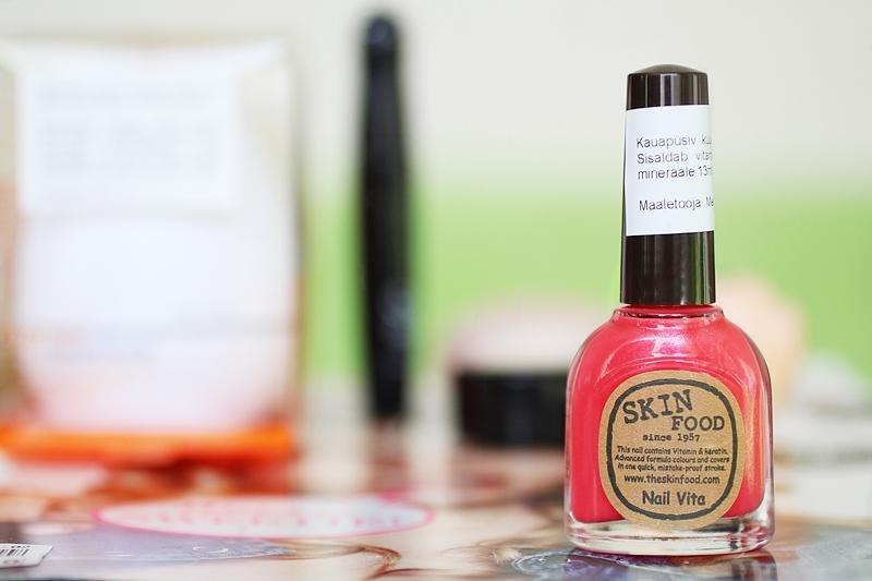 Skinfood // Nail Vita / Tomato Cherry