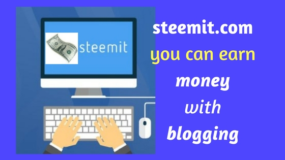 how to earn money with steemit