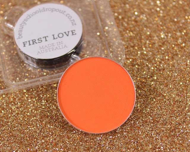 Beauty School Dropout Eyeshadow - First Love Swatches & Review
