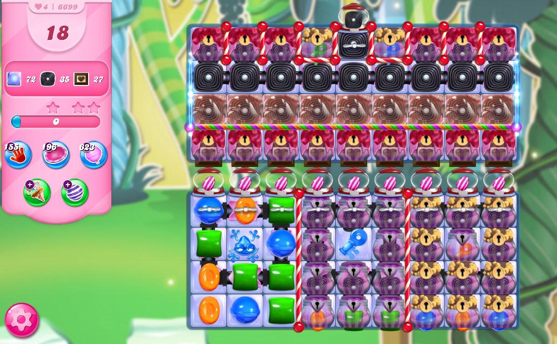 Candy Crush Saga level 6699