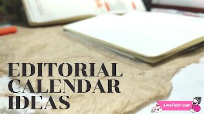 cara membuat editorial calendar untuk pemula