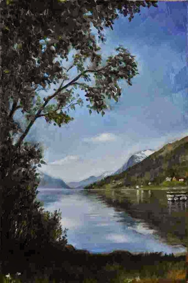 Норвежская фигуративная художница. Froydis Aarseth