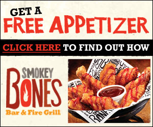 photo about Smokey Bones Coupons Printable named Smokey bones discount coupons september 2019