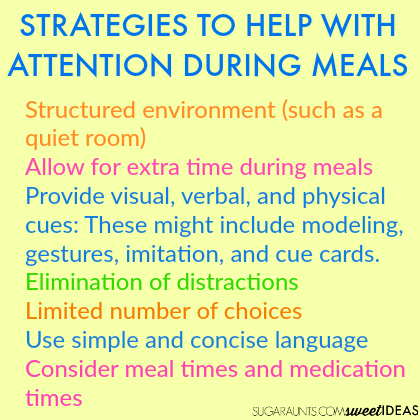 Use these tips from an Occupational Therapist to help kids with attention, behavior, and meal time problems.