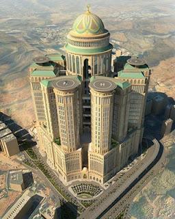 Hotel Terbesar di Dunia Dibangun di Mekah, Punya 10.000 Kamar