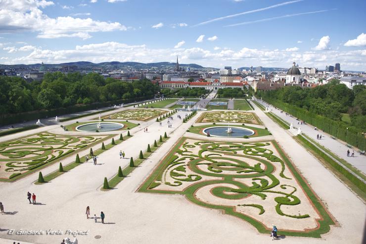 Belvedere Inferior - Viena, por El Guisante Verde Project
