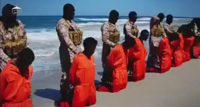 """Tak Bayar """"Pajak Agama"""" dan Menolak Masuk Islam, ISIS Bunuh 16 Warga Kristen di Libya"""