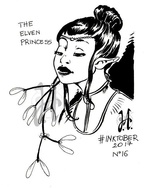 elven-princess-inktober-winsor-e-newton-china