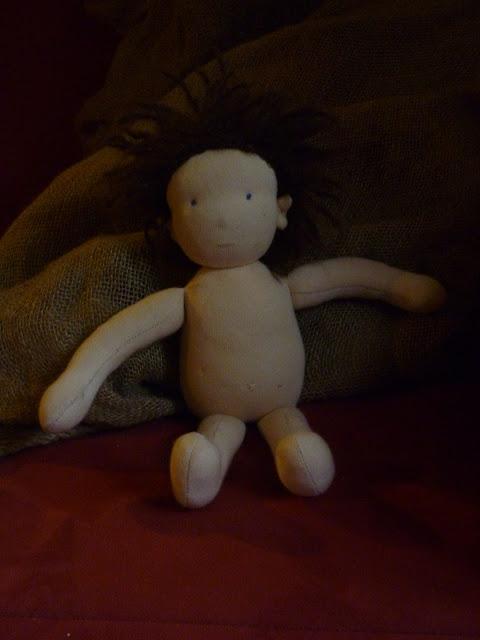 Puppe nach Schnitt von Mariengold