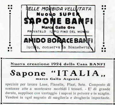 61c4a7979ec Spot commerciali pubblicati su Il Gazzettino tra il 1920 ed il 1935: