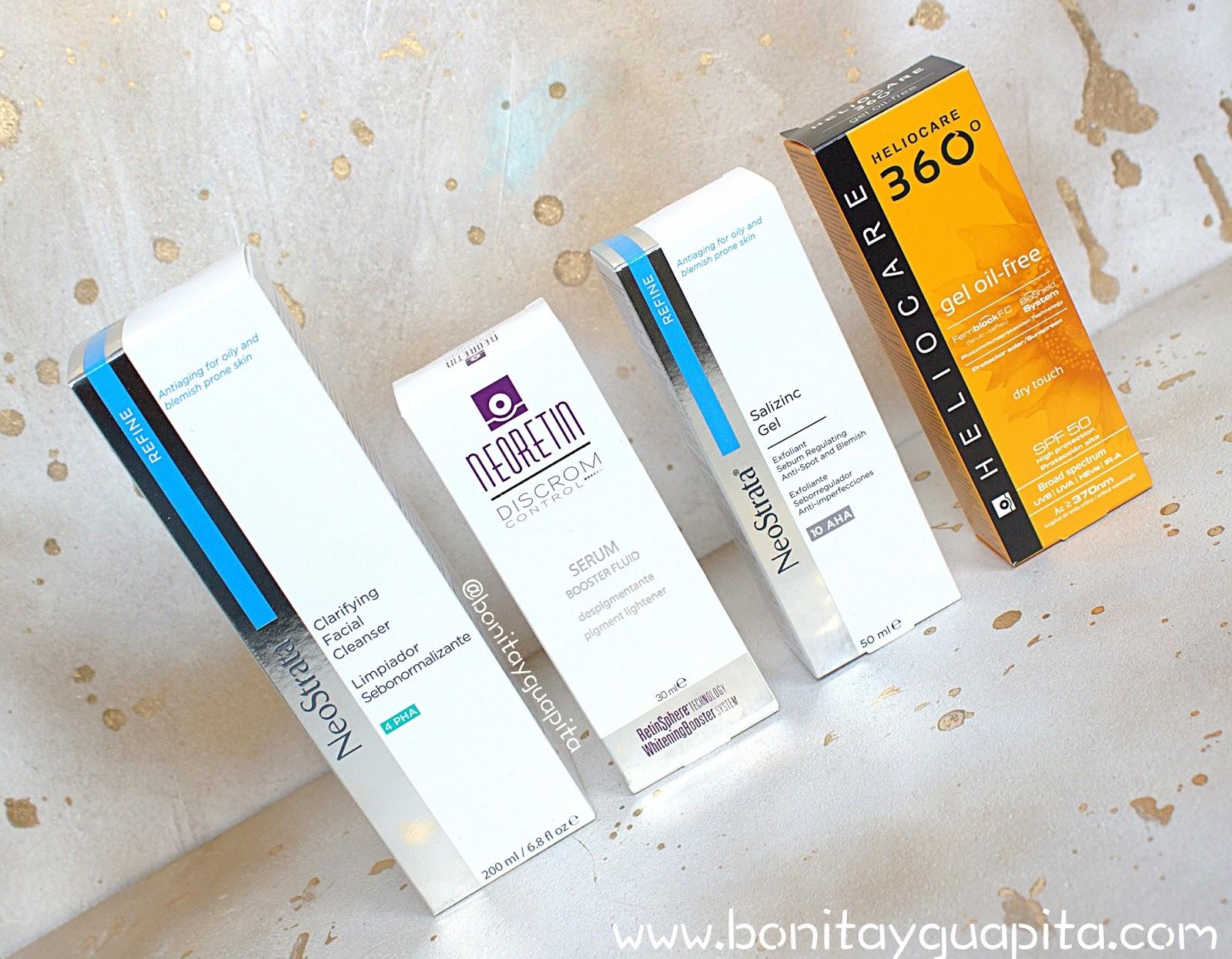 rutina facial acne