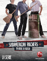Cartel de Sudamerican Rockers (Chile, 2014)
