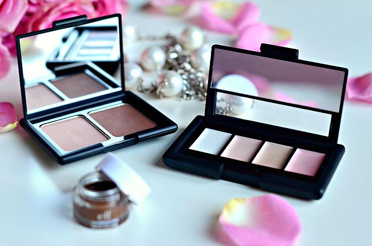 E.L.F. Cosmetics, E.L.F. Contour and bronze pallete, E.L.F. Shimmer pallete
