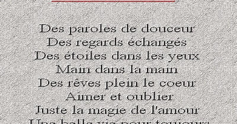 Triste Poèmes Poèmes Et Textes Damour