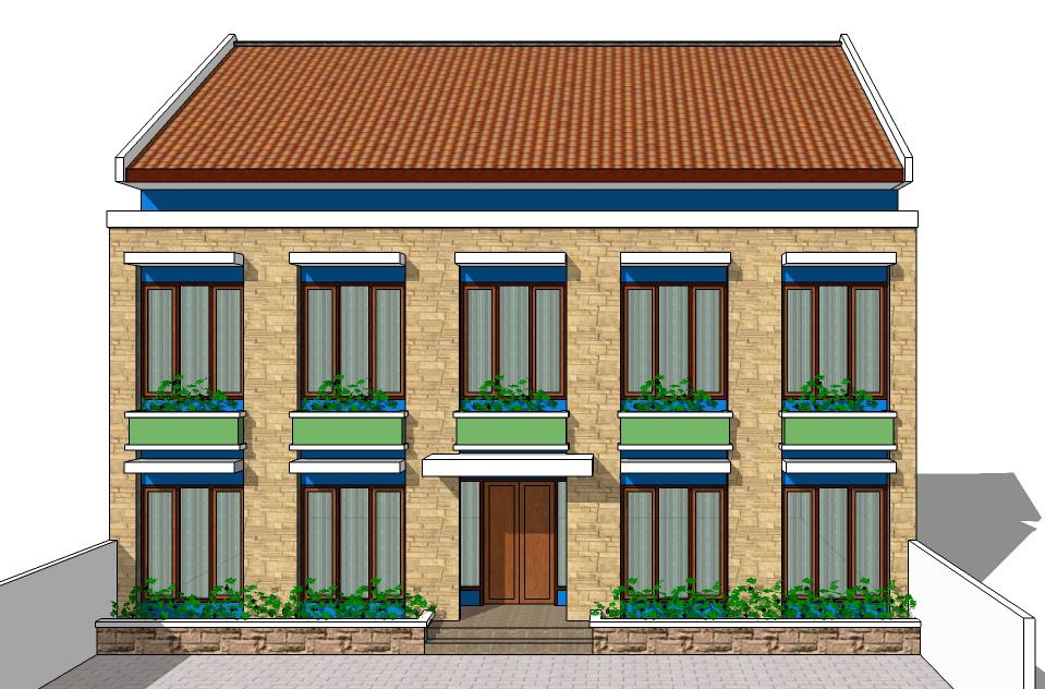 Boarding House Plan 01
