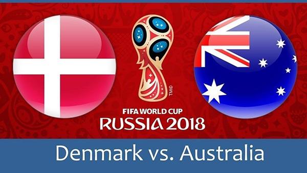 التعادل الإيجابي يفرض نفسة في لقاء الدانمارك واستراليا في الجولة الثانية ضمن منافسات كأس العالم 2018
